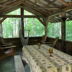 The screen porch / cookhouse